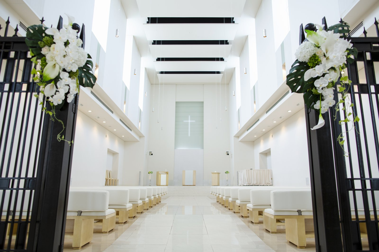 徳島県の結婚式場ブランアンジュのチャペル