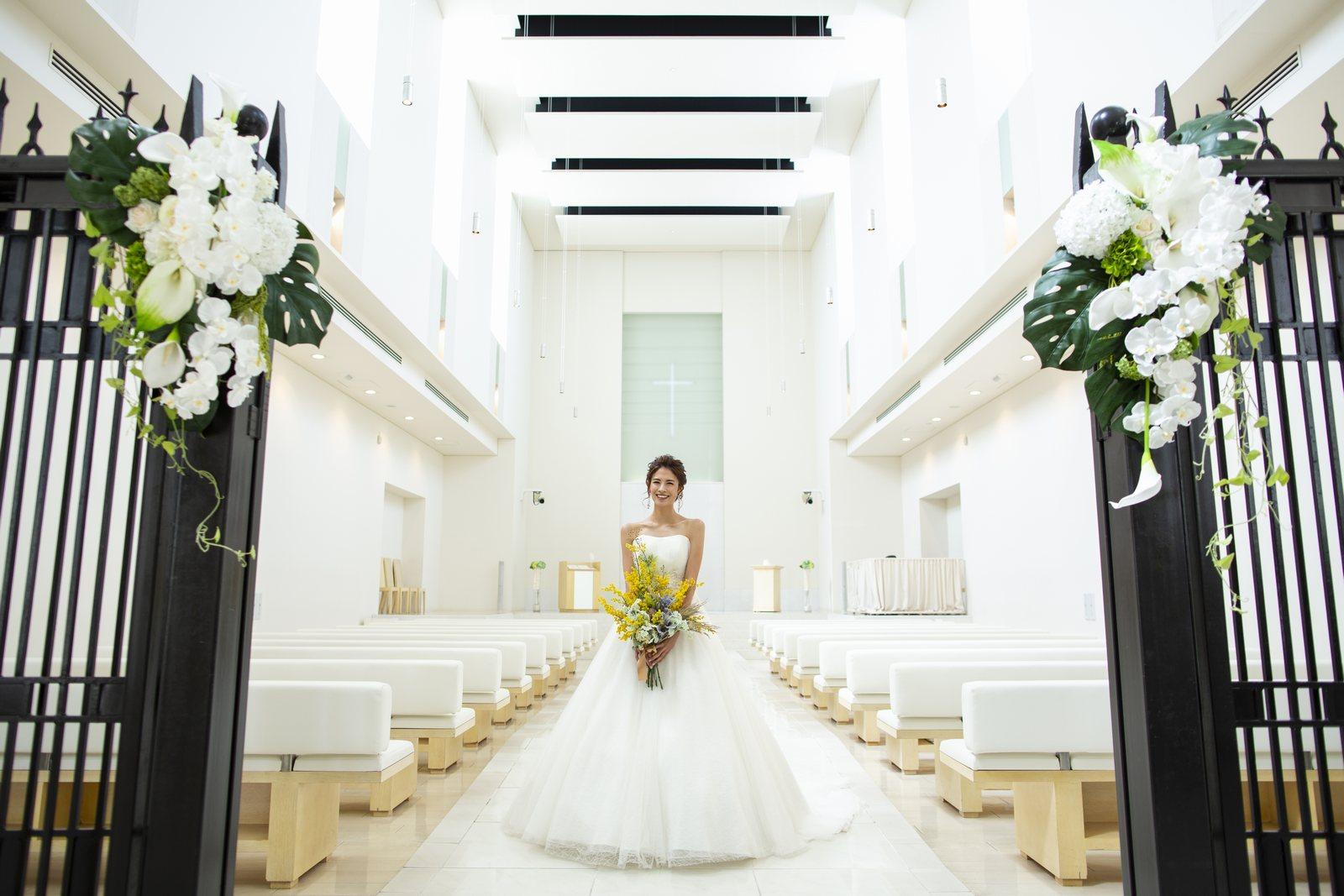 徳島県の結婚式場ブランアンジュの感動挙式