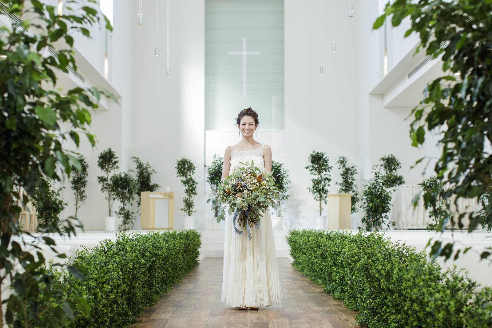 徳島県の結婚式場ブランアンジュはチャペルのコーディネートも自由
