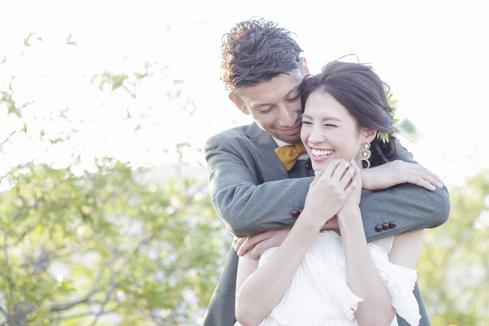 徳島県の結婚式場ブランアンジュの開放的なウエディング