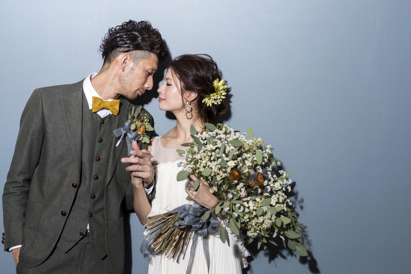 徳島県の結婚式場ブランアンジュで前写し
