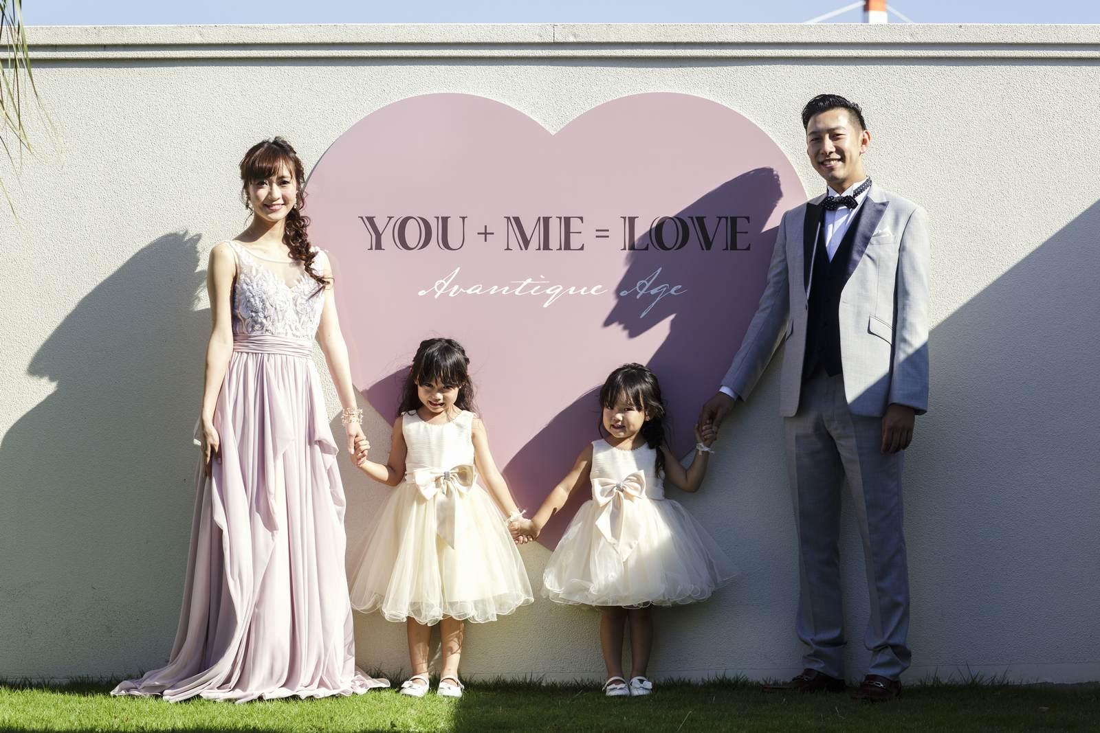 徳島県の結婚式場ブランアンジュのフォトブース