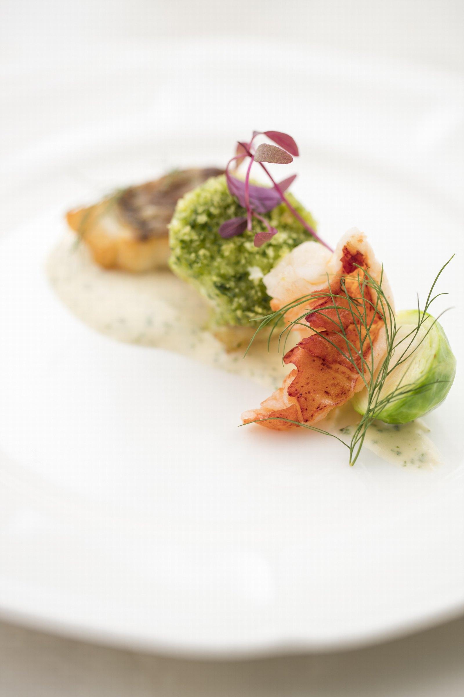 徳島県の結婚式場ブランアンジュの婚礼料理の盛付けイメージ