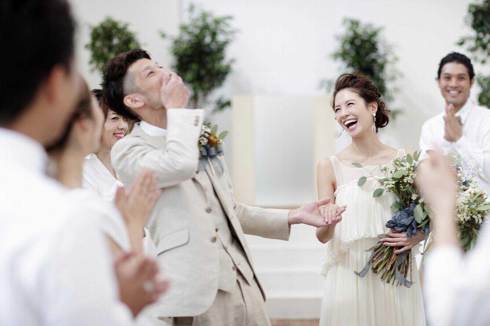 徳島県の結婚式場ブランアンジュの人前式