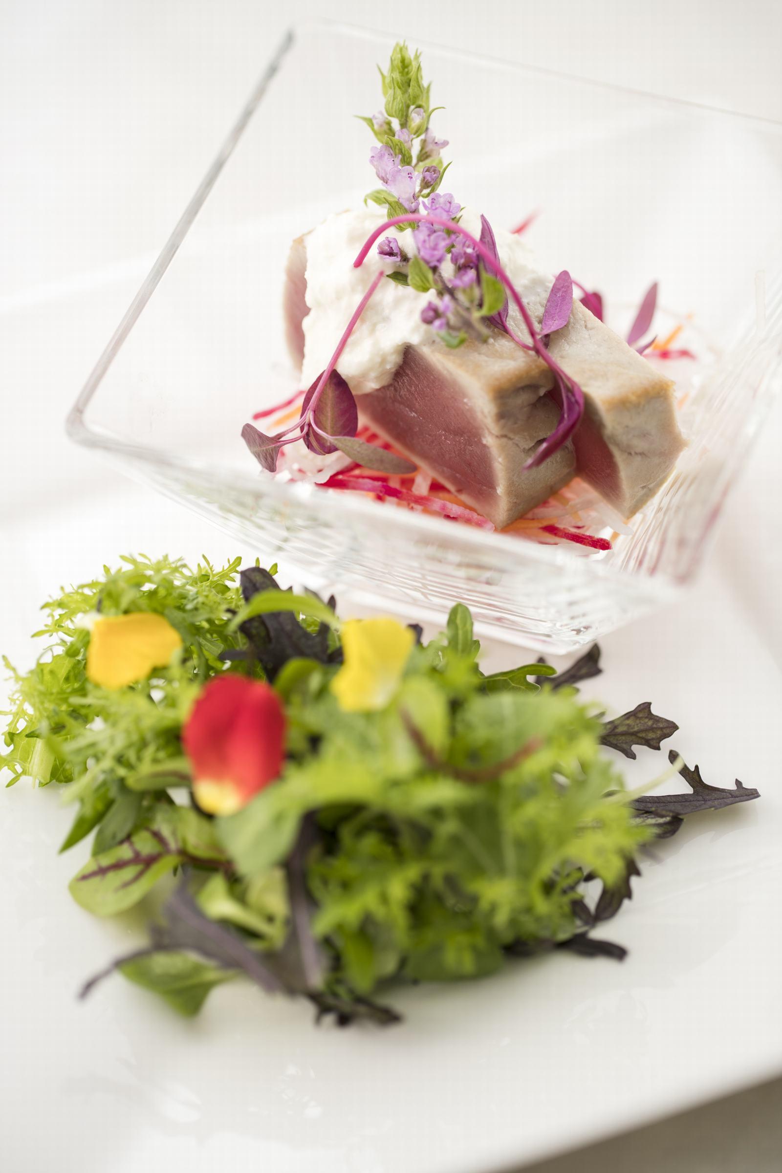 徳島県の結婚式場ブランアンジュのお料理イメージ