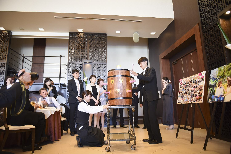 徳島市の結婚式場ブランアンジュでドキドキの黒ひげゲームでゲストもドキドキ