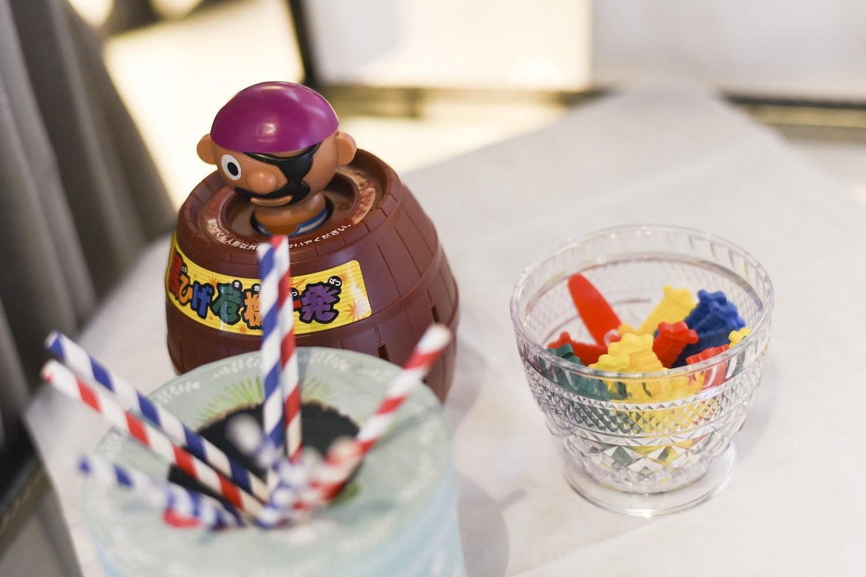 徳島市の結婚式場ブランアンジュで黒ひげゲームの演出でゲストと楽しむ