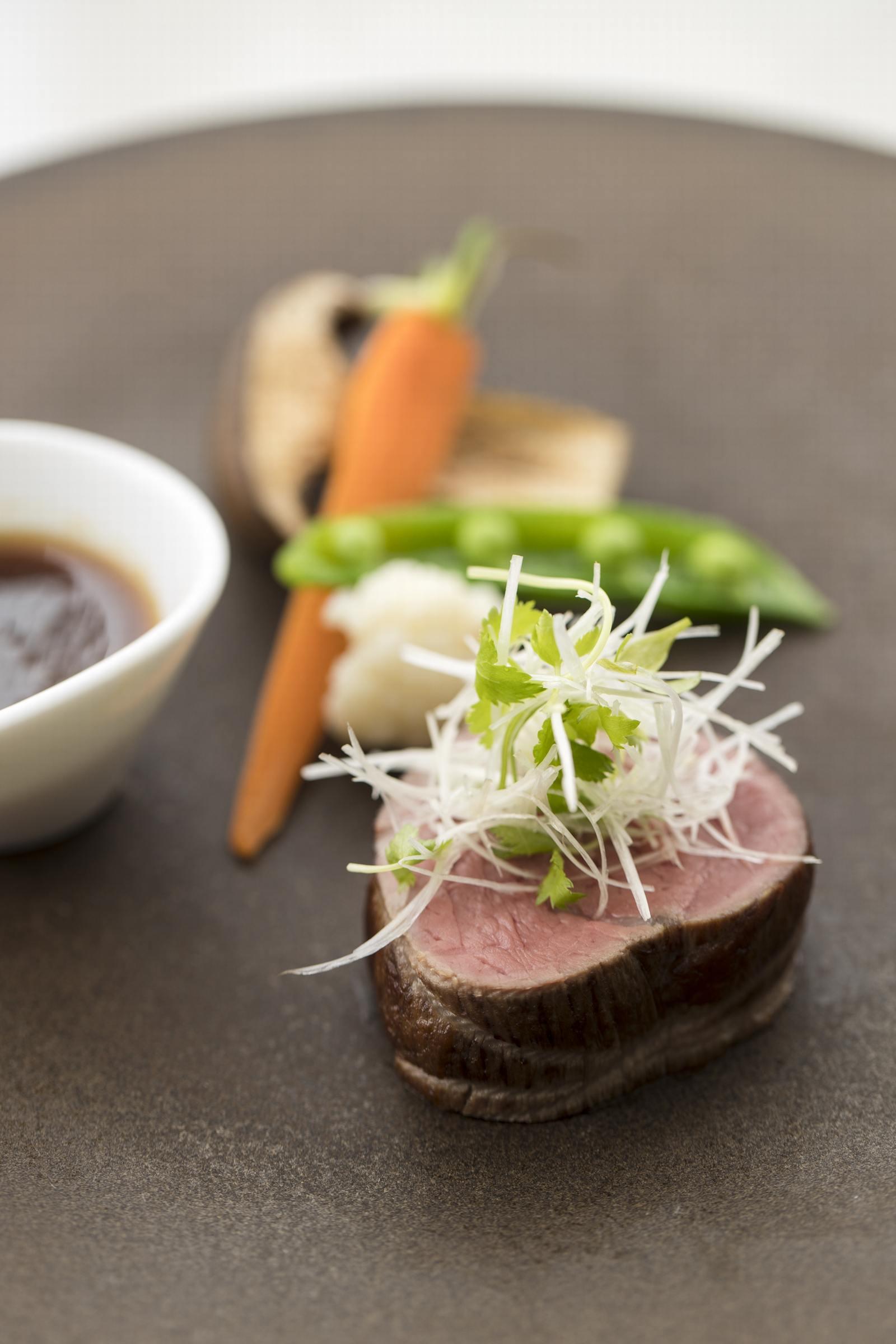 徳島県の結婚式場ブランアンジュのメイン料理
