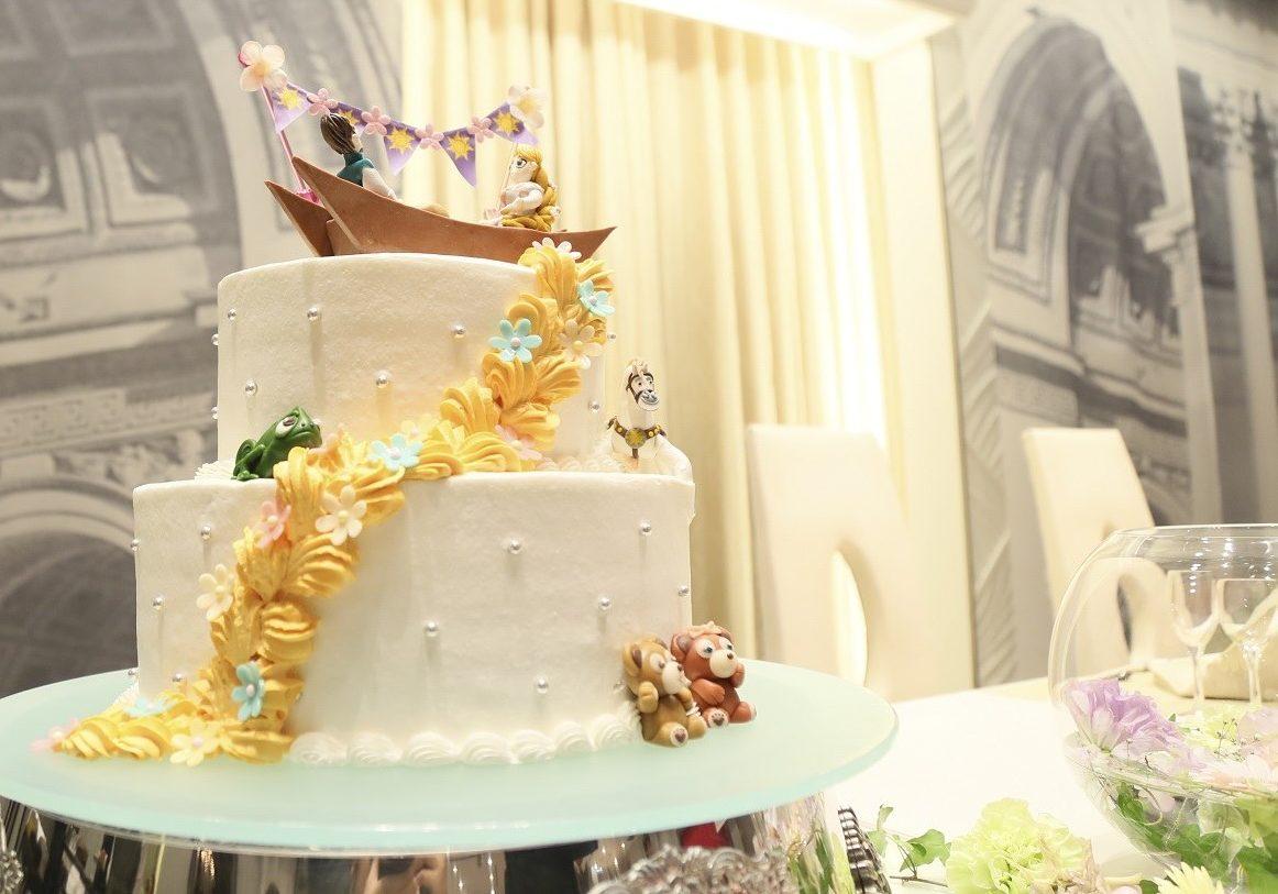 徳島市の結婚式場ブランアンジュでお気に入りのウエディングケーキ