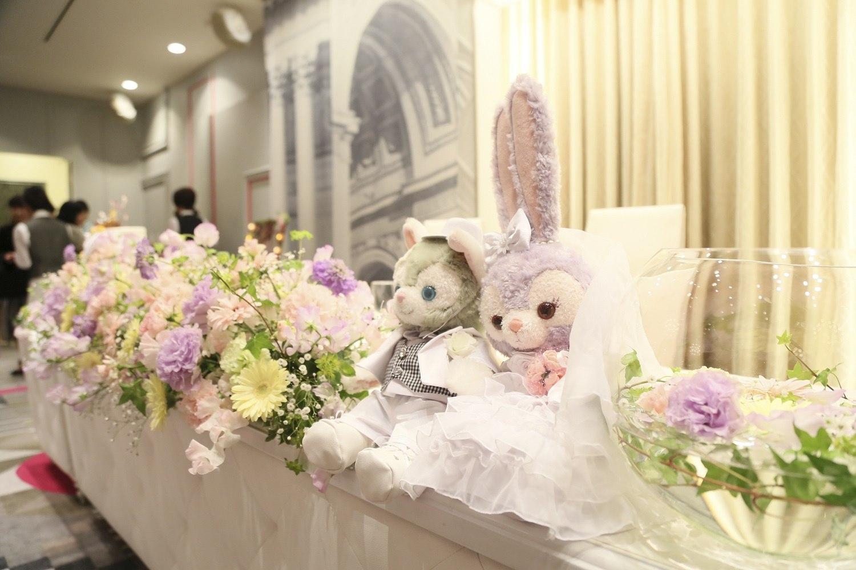 徳島市の結婚式場ブランアンジュの披露宴会場もラプンツェルカラー