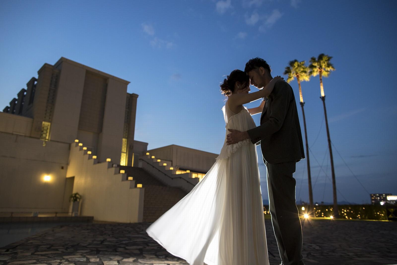 徳島県の結婚式場ブランアンジュのナイトウエディング