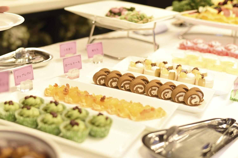 徳島市の結婚式場ブランアンジュでの美味しそうなデザートビュッフェ