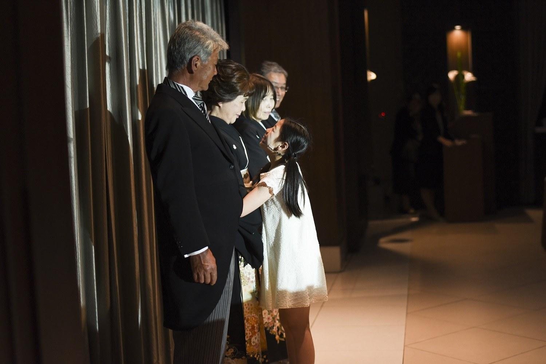 徳島市の結婚式場ブランアンジュで披露宴のクライマックスでメモリプレイ