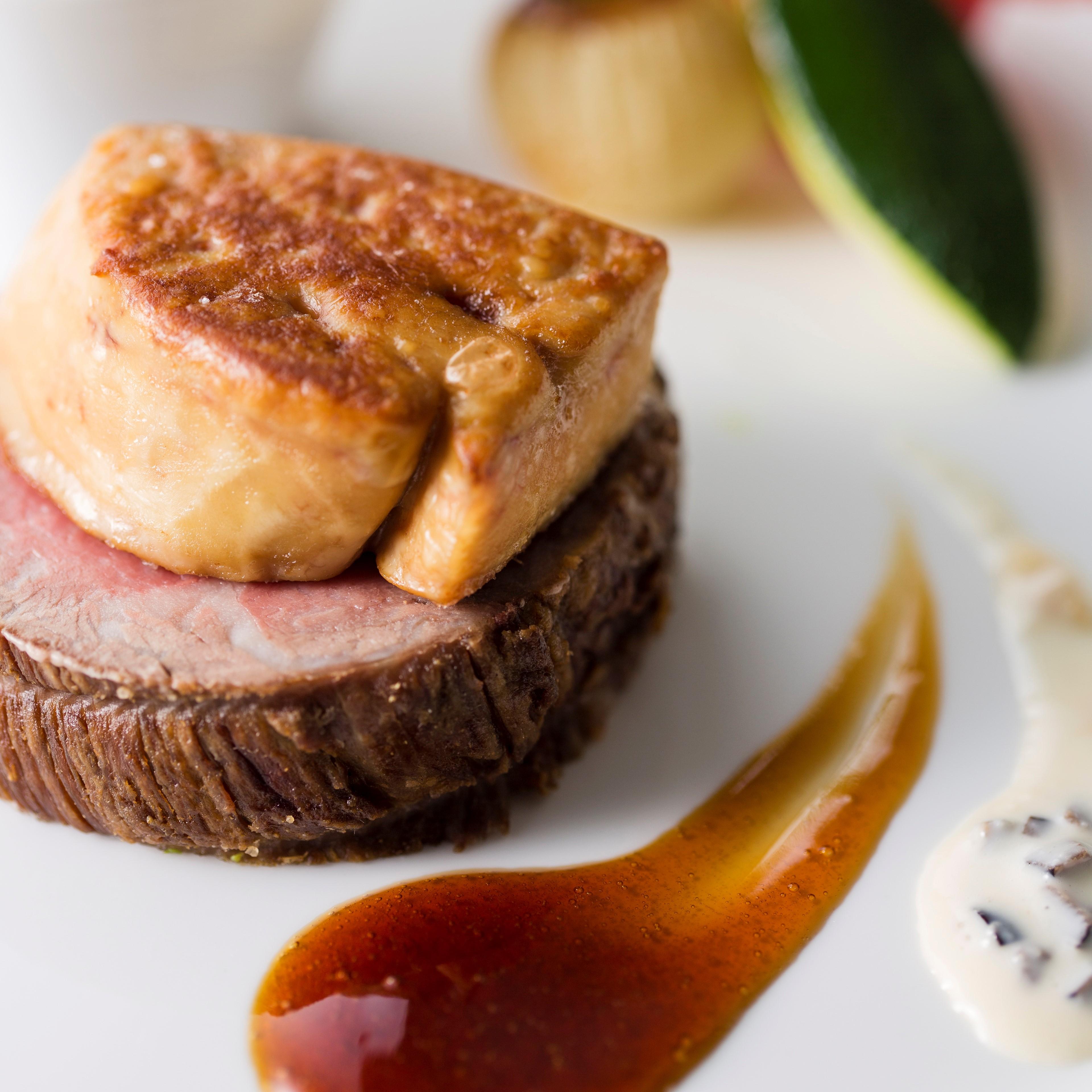肉とフォアグラ