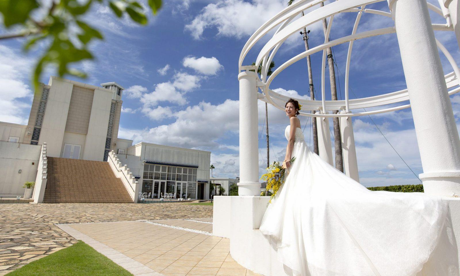 徳島県の結婚式場ブランアンジュの外観