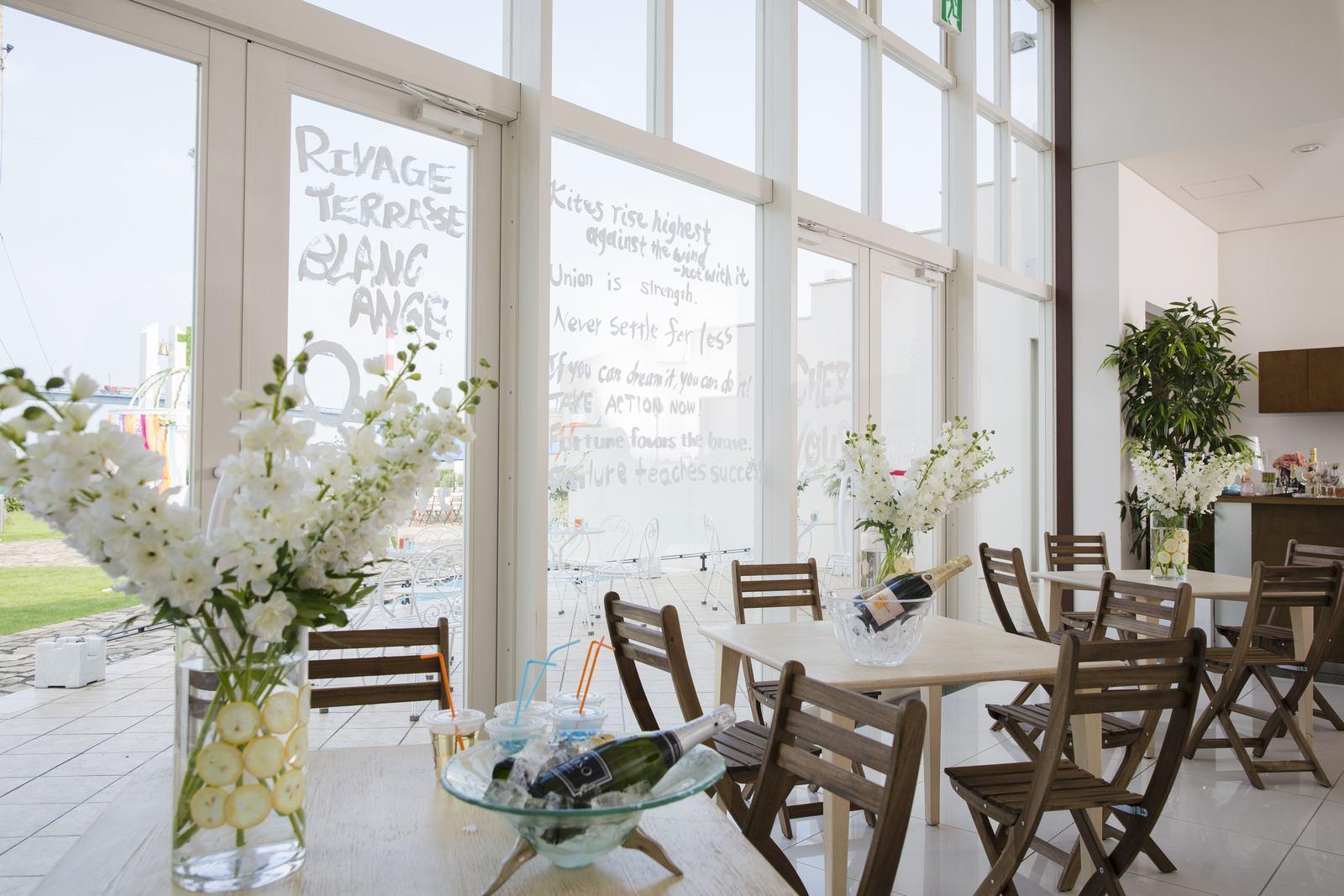 徳島県の結婚式場ブランアンジュのレストラン