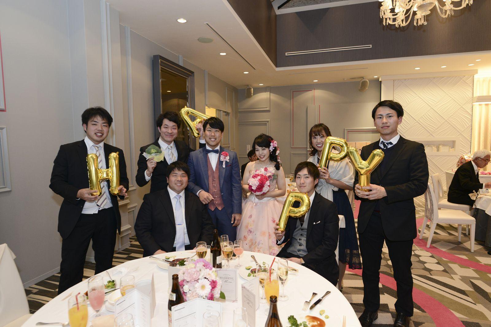 徳島市の結婚式場ブランアンジュでフォトラウンド