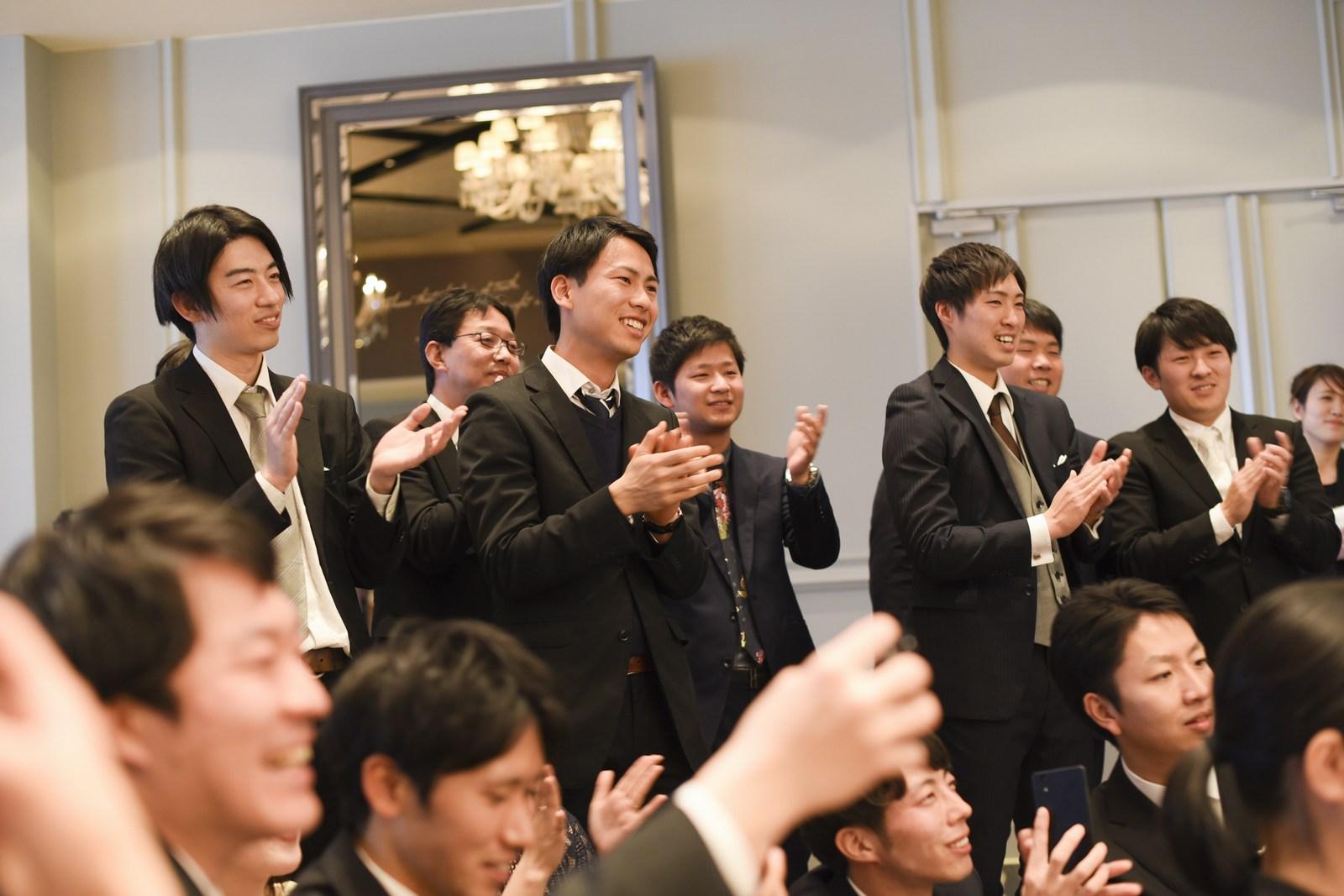 徳島市の結婚式場ブランアンジュでファーストバイト