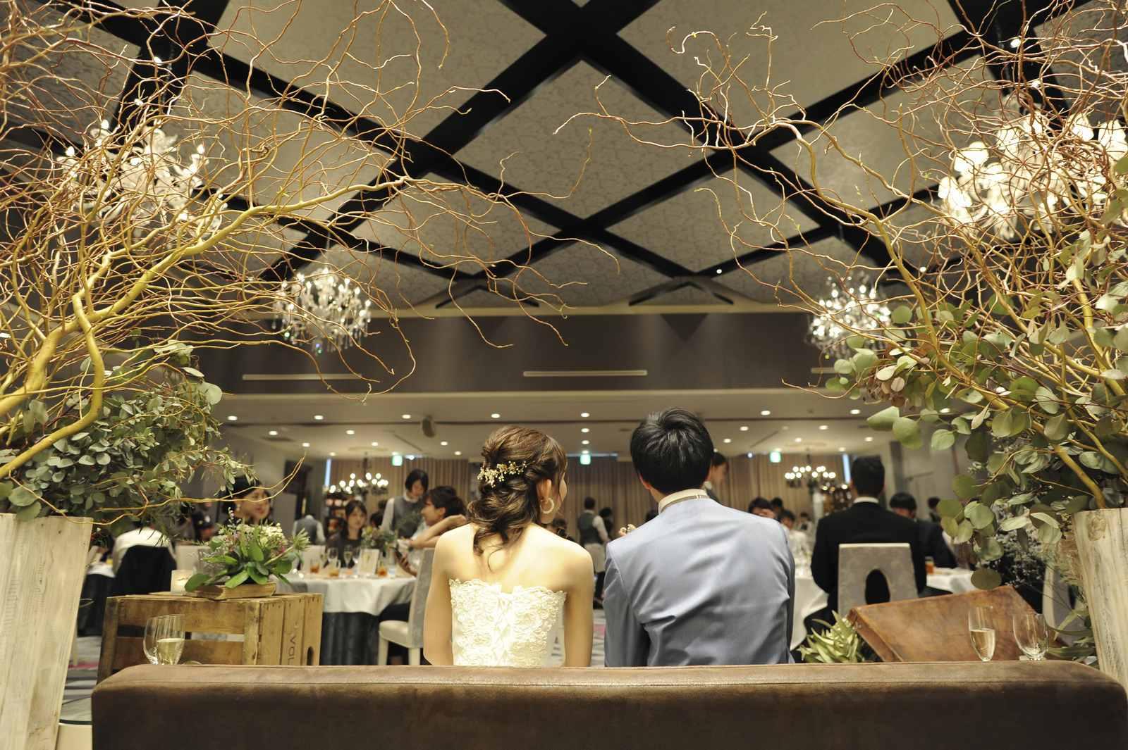 徳島市の結婚式場ブランアンジュのバンケットコーディネートは新郎新婦さまのこだわりで