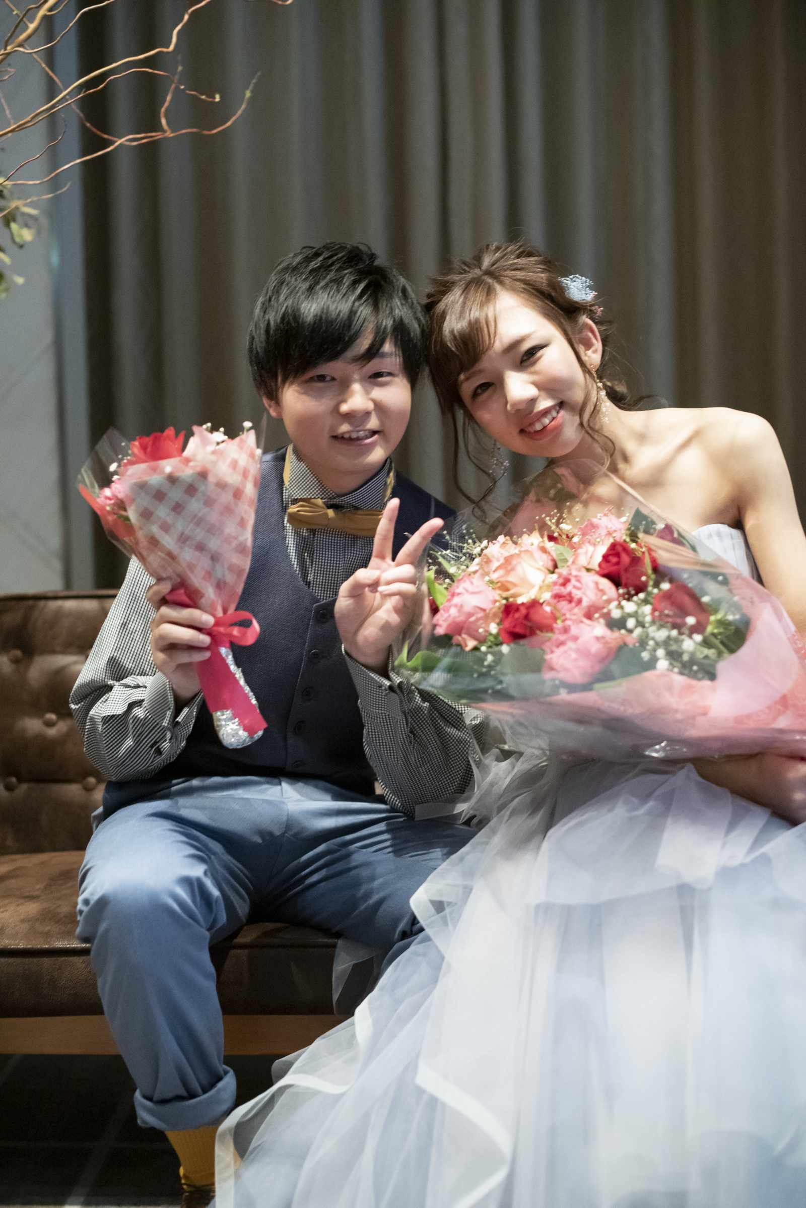 徳島市の結婚式場ブランアンジュでお互いに感謝の気持ちを伝えたサプライズセレモニー
