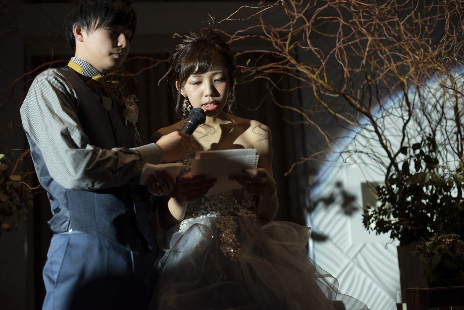 徳島市の結婚式場ブランアンジュの結婚式でしか伝えられない両親への感謝の手紙