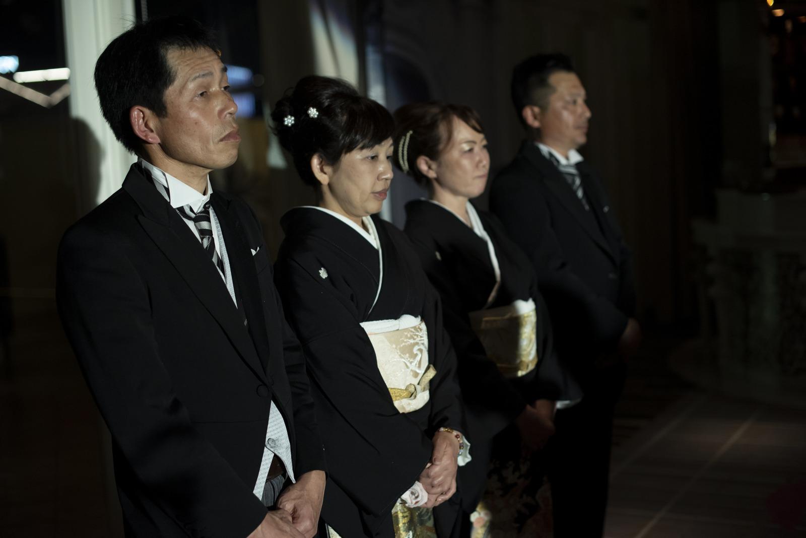 徳島市の結婚式場ブランアンジュで今までの両親の感謝の気持ちを素直に伝えられるシーン