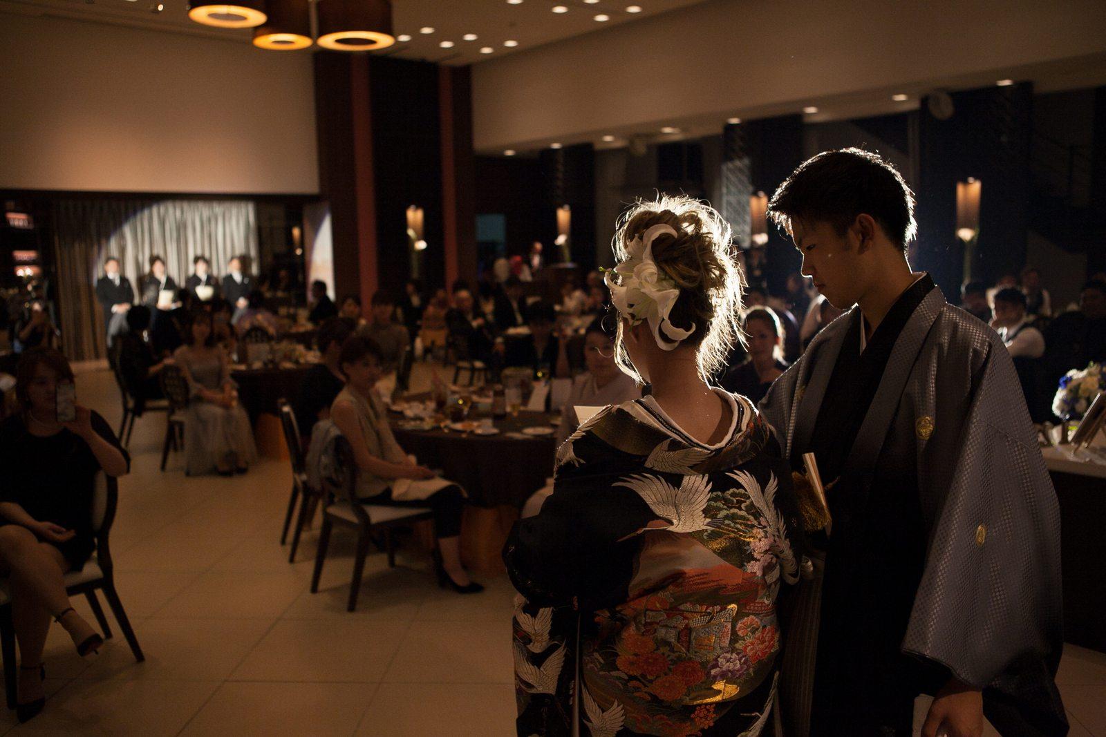 徳島市の結婚式場ブランアンジュで新婦様からご両親様への感動のお手紙披露