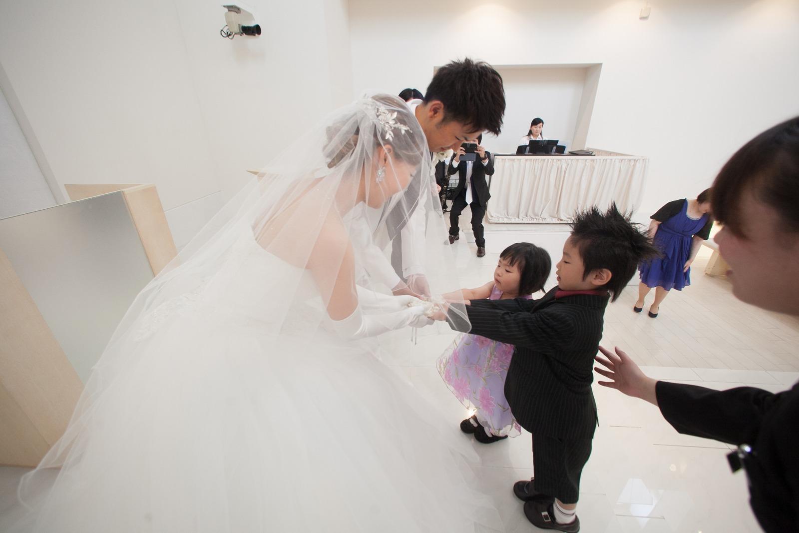 徳島市の結婚式場ブランアンジュでアットホームなリングリレー
