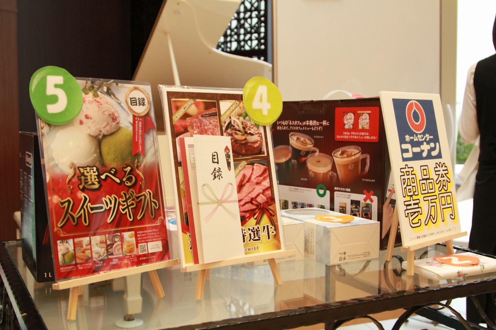 徳島市の結婚式場ブランアンジュで豪華景品をかけてのビンゴゲーム