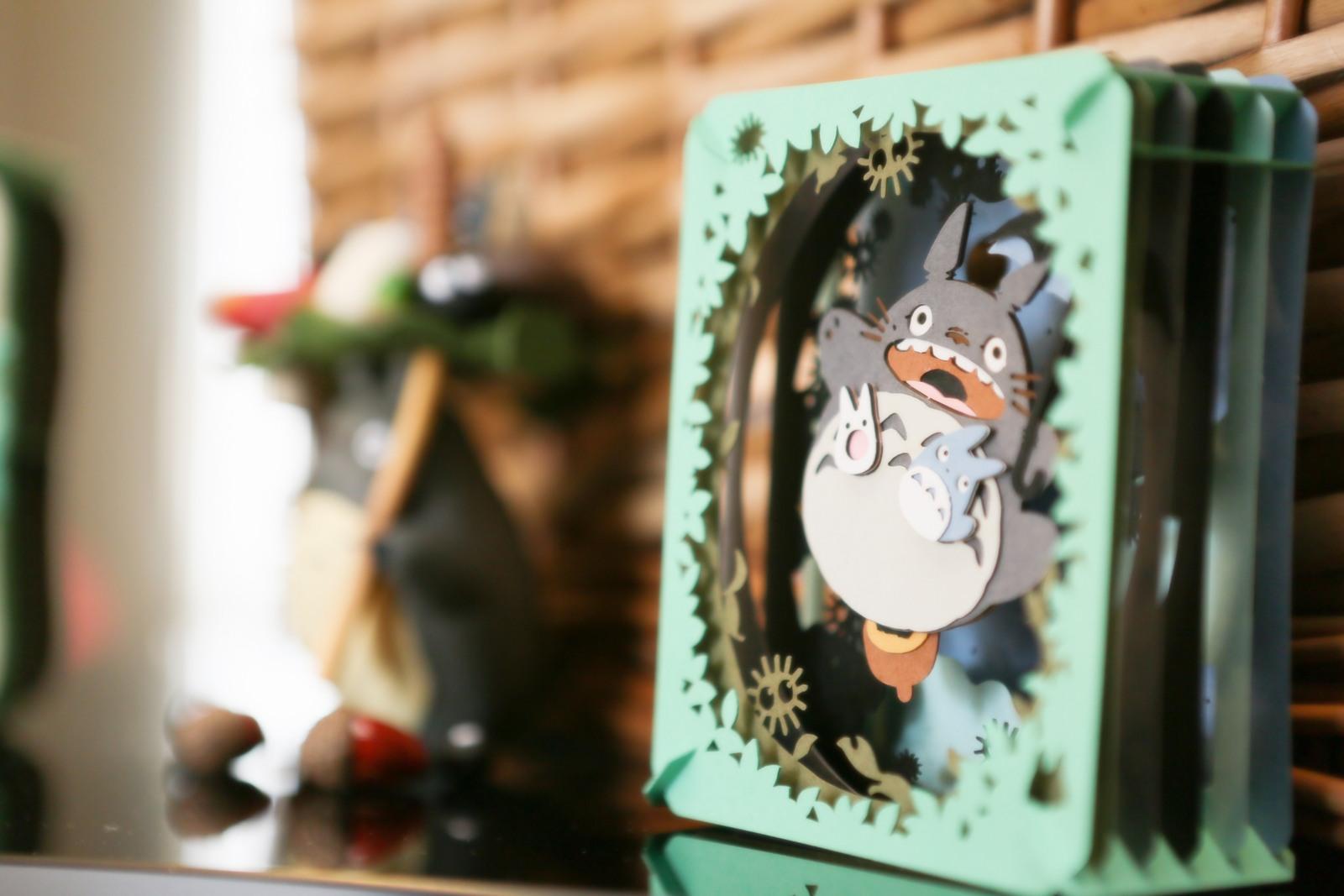 徳島市の結婚式場ブランアンジュで大好きなトトロを飾ったロビー