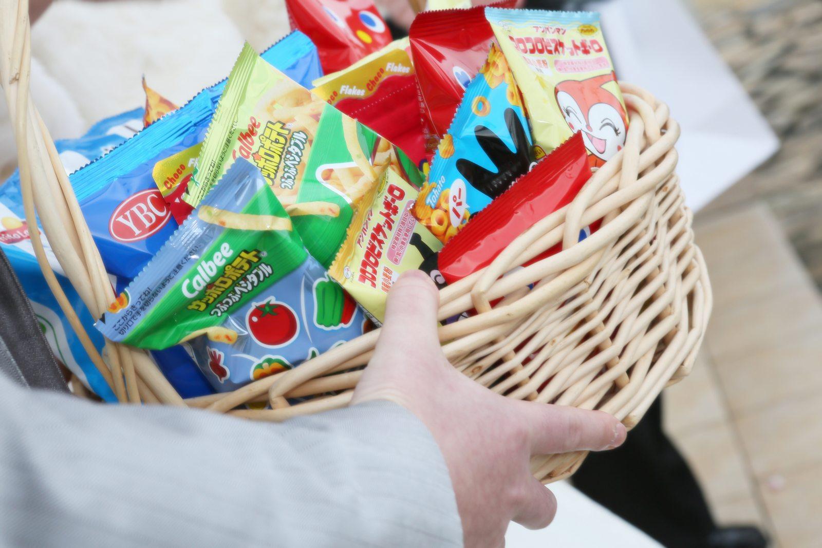 徳島市の結婚式場ブランアンジュで新郎新婦が用意して子ども向けのギフト
