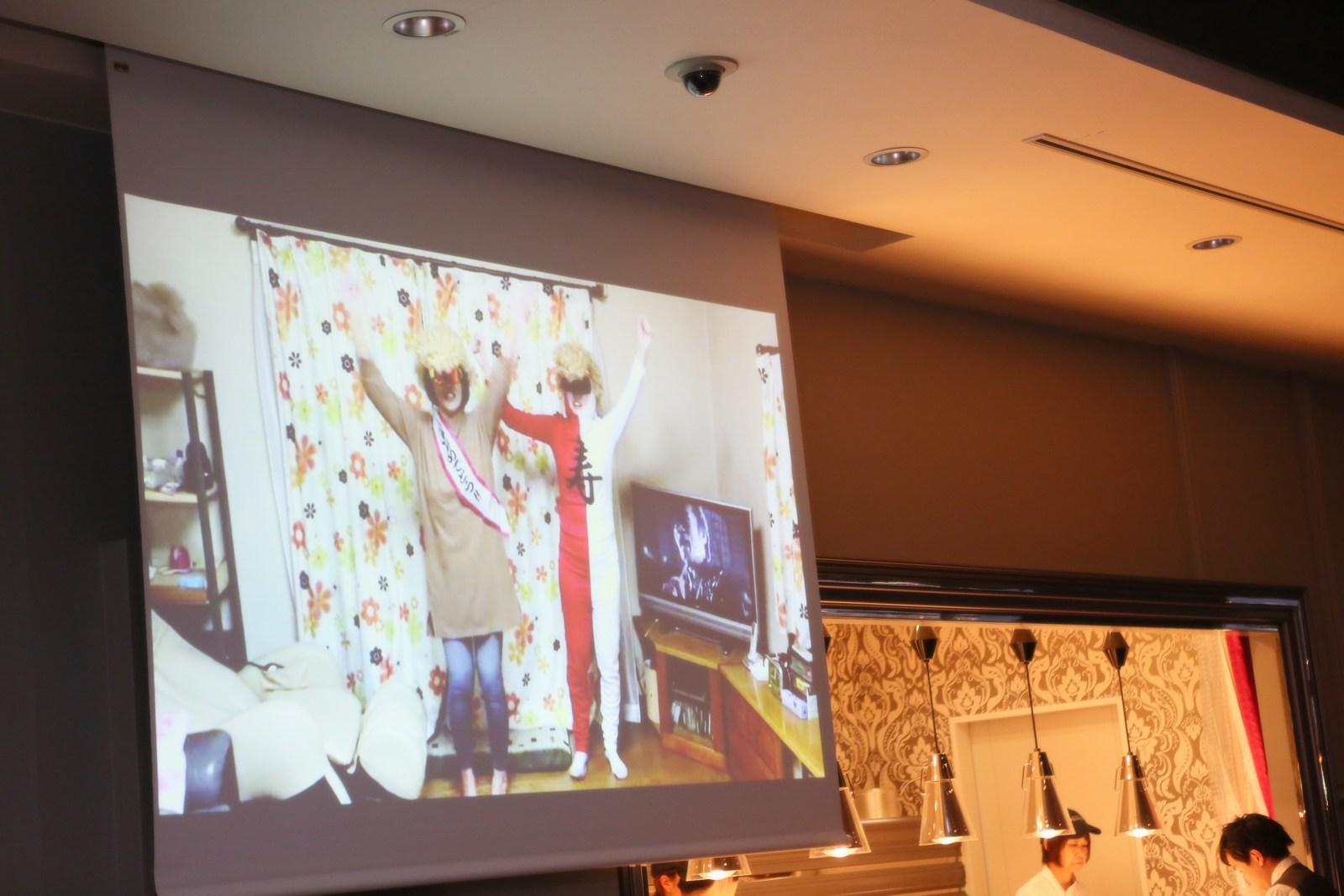徳島県の結婚式場ブランアンジュの披露宴で上映したムービー