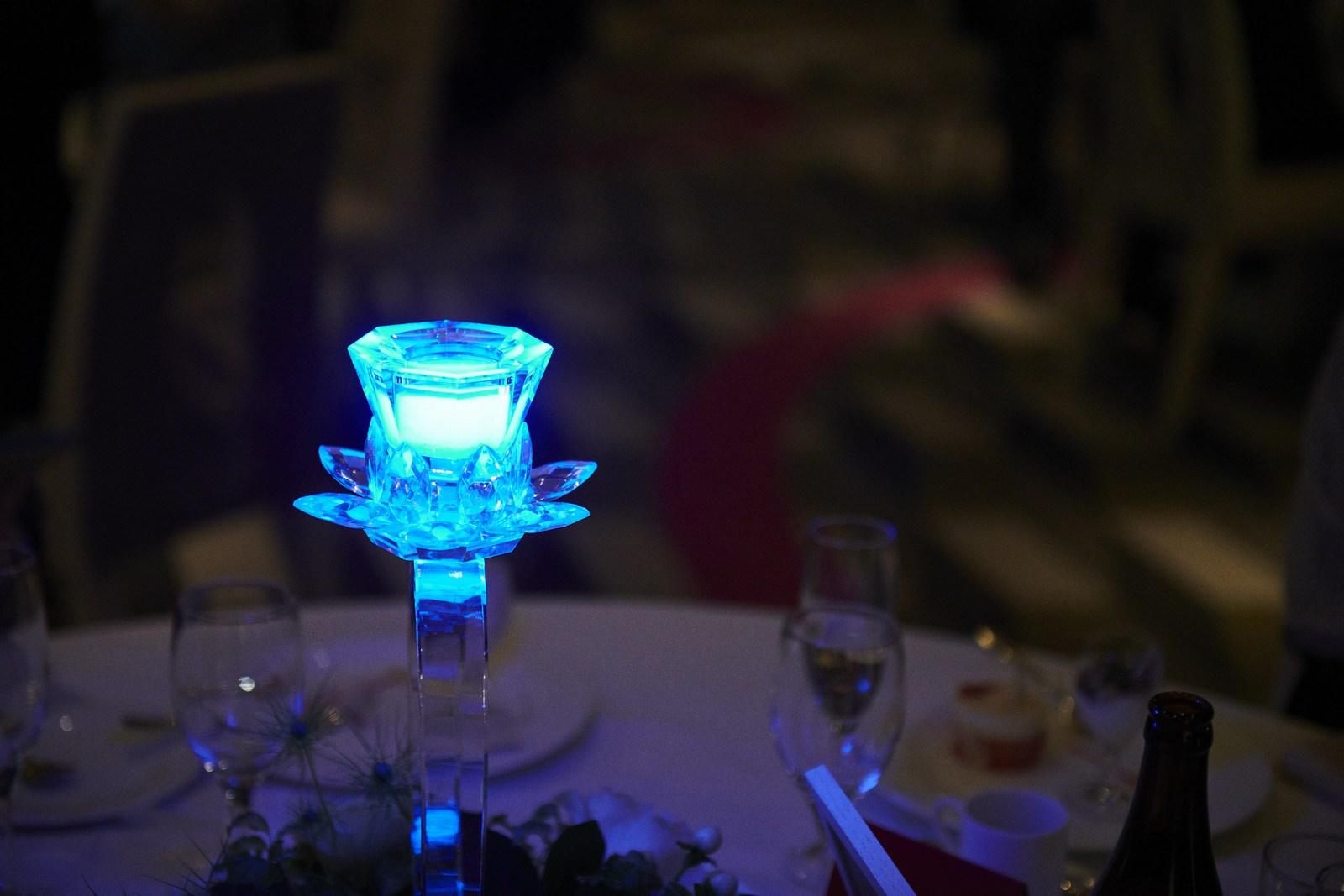 徳島市の結婚式場ブランアンジュで新郎新婦様から感謝の気持ちが込められたゲスト卓演出