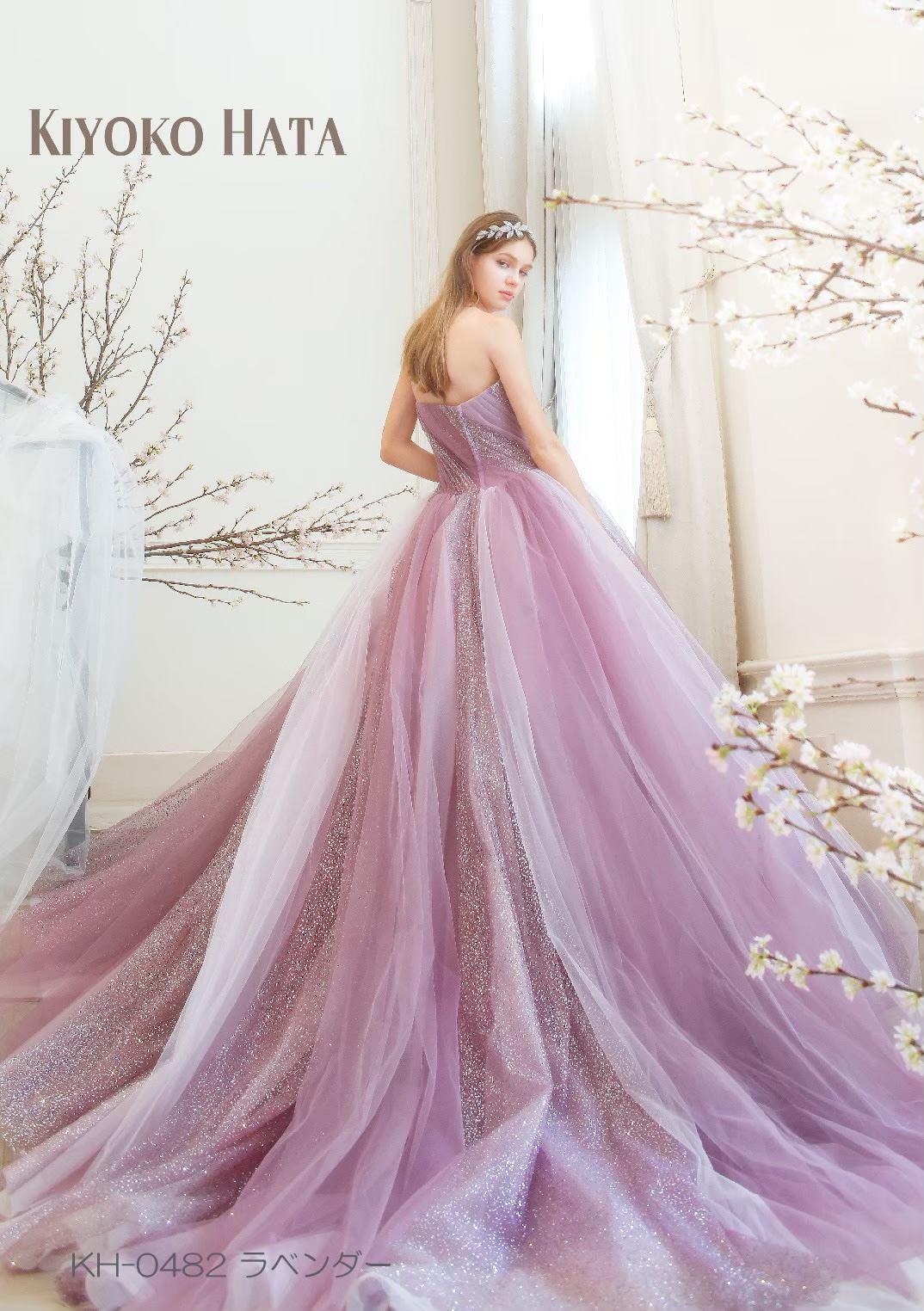 徳島市の結婚式場ブランアンジュ新作キヨコハタのドレス